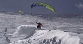 La saison de speed de skydive dubaï à Valfrèjus